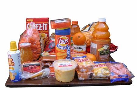orange food day