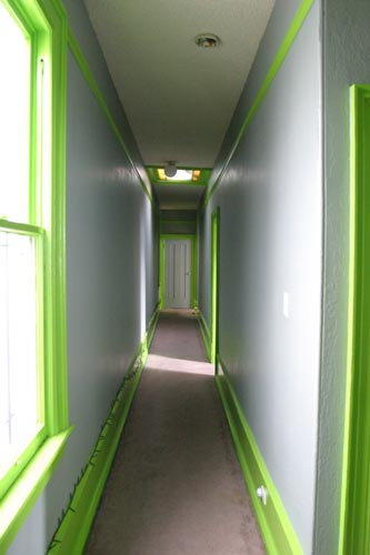 mcallister street residency hallway