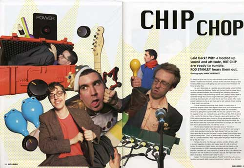 hot chip dazed & confused