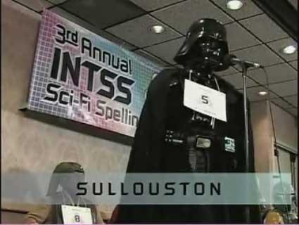 sci-fi spelling bee darth vader
