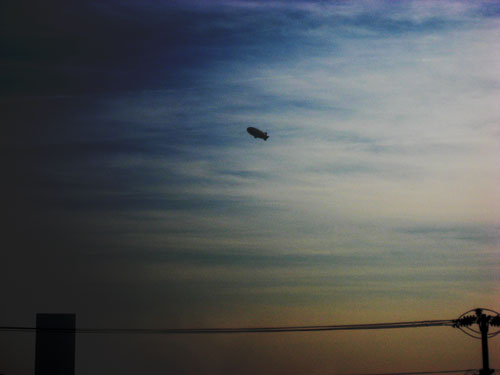 marc horowitz blimp sighting #2