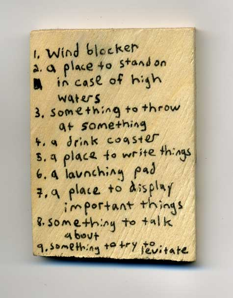 marc horowitz block of wood ideas